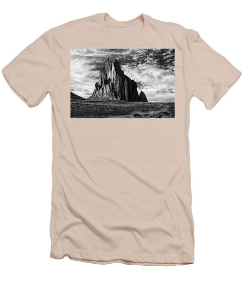 Monolith On The Plateau Men's T-Shirt (Slim Fit) by Jon Glaser