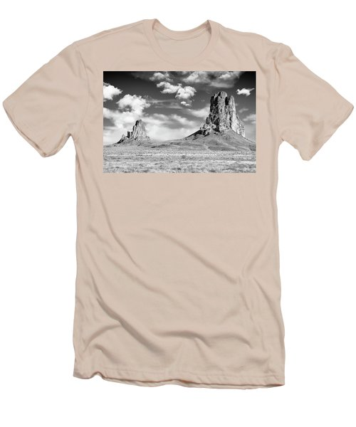 Men's T-Shirt (Slim Fit) featuring the photograph Monoliths by Jon Glaser