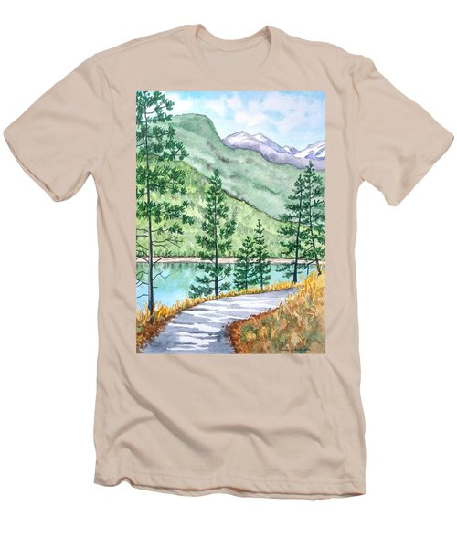 Montana - Lake Como Series Men's T-Shirt (Athletic Fit)
