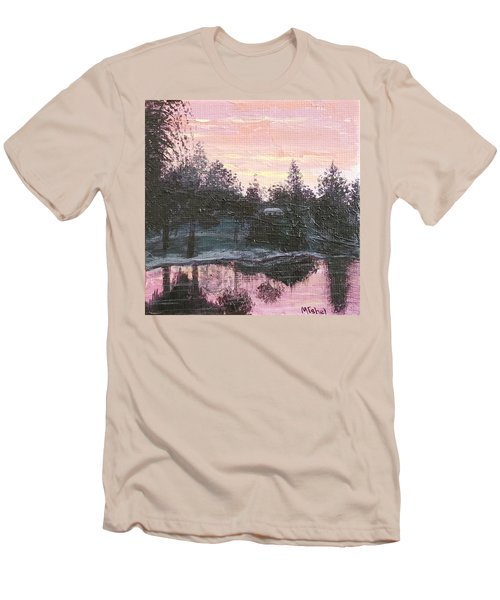 Montgomery Pond Men's T-Shirt (Athletic Fit)
