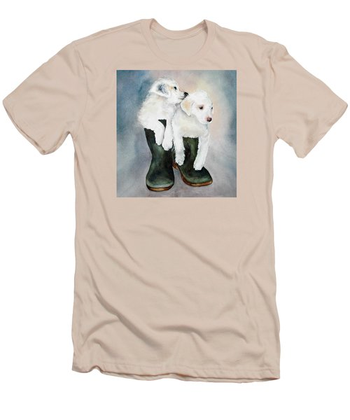 Monti And Gemma Men's T-Shirt (Slim Fit)