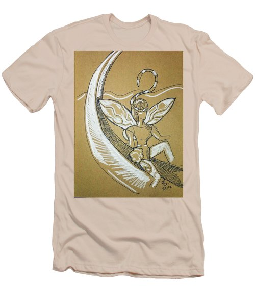 Moon Fairy Men's T-Shirt (Athletic Fit)