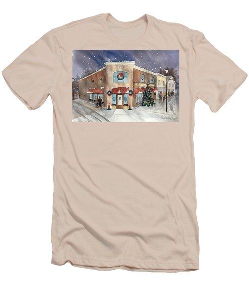 Morkes Christmas 2017 Men's T-Shirt (Athletic Fit)