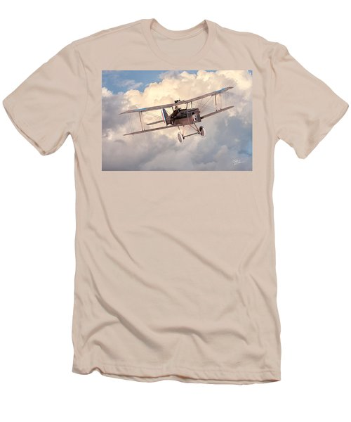 Morning Flight - Se5a Men's T-Shirt (Slim Fit) by David Collins