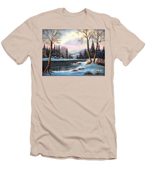 Morning Glory Men's T-Shirt (Slim Fit) by Hazel Holland