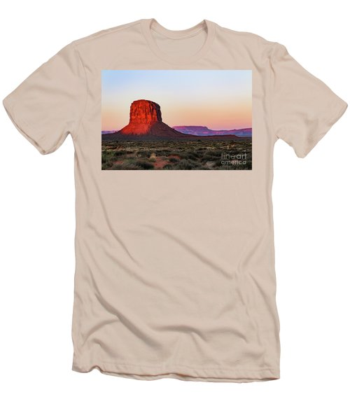 Morning Glory In Monument Valley Men's T-Shirt (Athletic Fit)