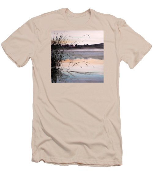 Men's T-Shirt (Slim Fit) featuring the painting Morning Light by John Williams