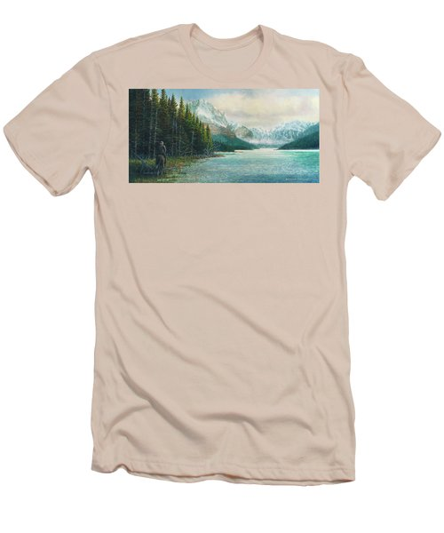 Morning Ride Men's T-Shirt (Slim Fit) by Douglas Castleman