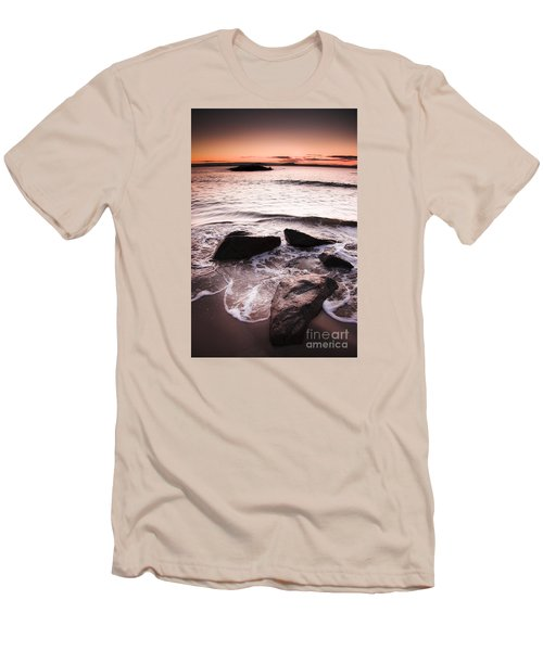 Men's T-Shirt (Athletic Fit) featuring the photograph Morning Tide by Jorgo Photography - Wall Art Gallery