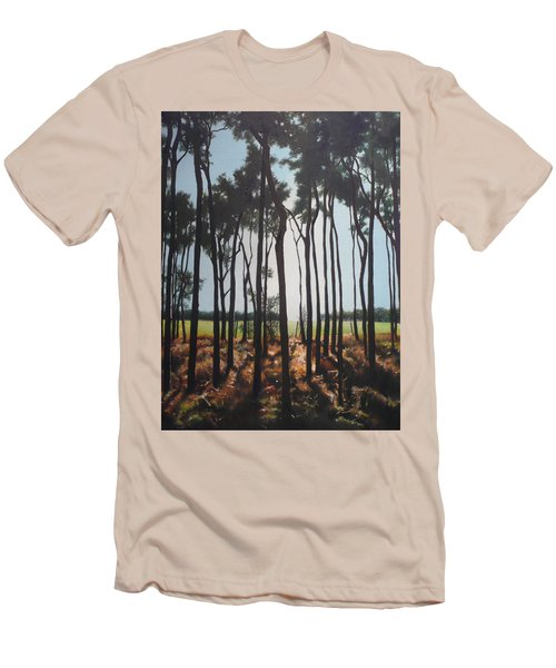 Morning Walk. Men's T-Shirt (Athletic Fit)
