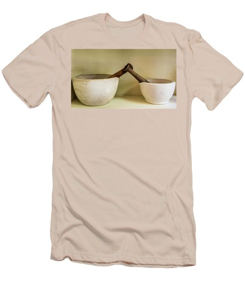 Men's T-Shirt (Slim Fit) featuring the photograph Mortar And Pestle by Paul Freidlund