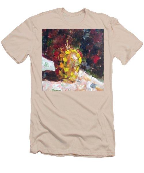 Mosaic Apple Men's T-Shirt (Slim Fit) by Roxy Rich