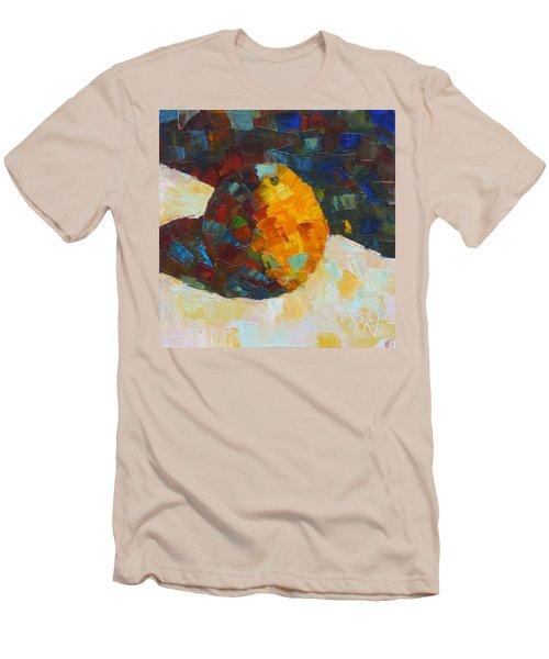 Mosaic Citrus Men's T-Shirt (Slim Fit) by Susan Woodward