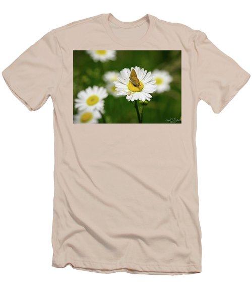 Moth Meets Spider Men's T-Shirt (Athletic Fit)