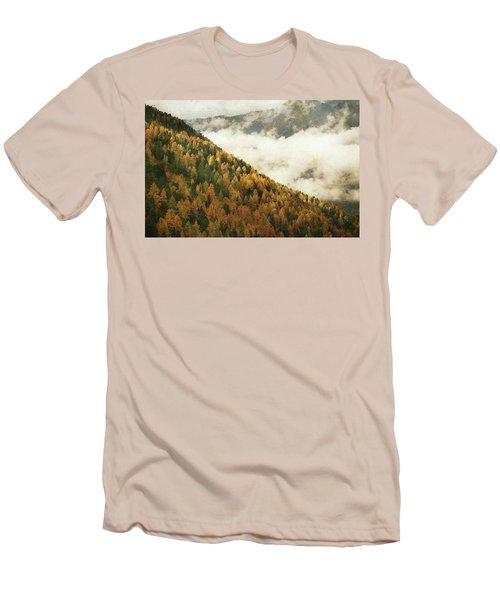 Mountain Landscape Men's T-Shirt (Slim Fit)
