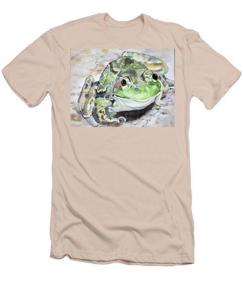 Mr Frog  Men's T-Shirt (Athletic Fit)