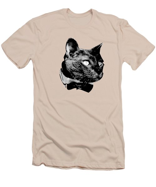 Mr. Meow Men's T-Shirt (Athletic Fit)