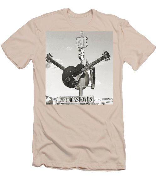 Ms Crossroads Men's T-Shirt (Athletic Fit)