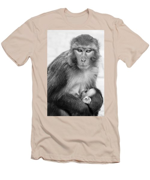 My Baby Men's T-Shirt (Slim Fit) by James David Phenicie