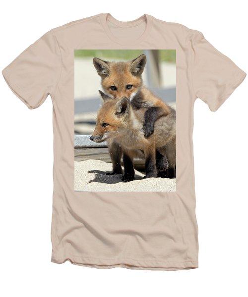 My Sibling Men's T-Shirt (Slim Fit) by Stephen Flint