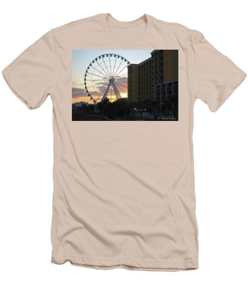 Myrtle Beach Sunset 2 Men's T-Shirt (Slim Fit) by Gordon Mooneyhan