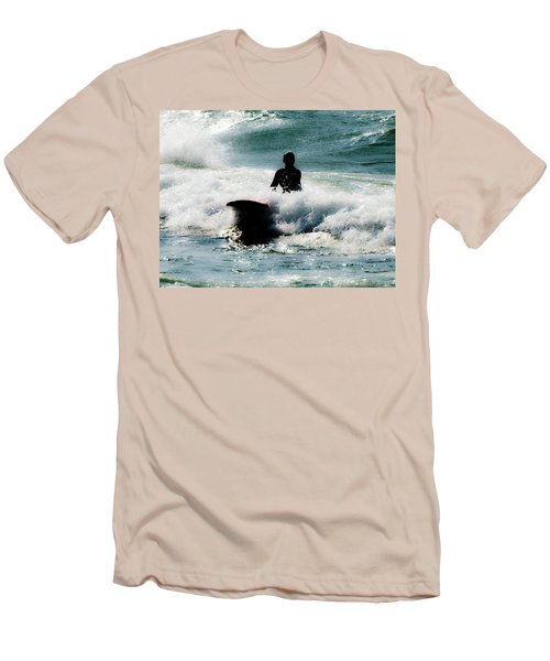 Men's T-Shirt (Slim Fit) featuring the photograph Mystical Surf by Tara Lynn