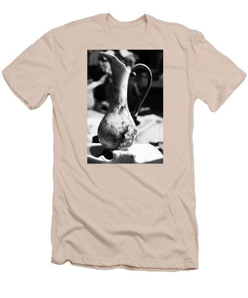 Men's T-Shirt (Slim Fit) featuring the photograph Nana's Vase by Cassandra Buckley