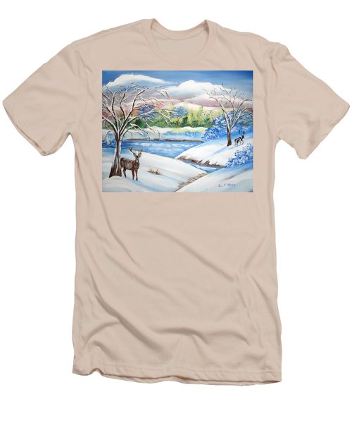 Natural Beauty Men's T-Shirt (Slim Fit) by Luis F Rodriguez