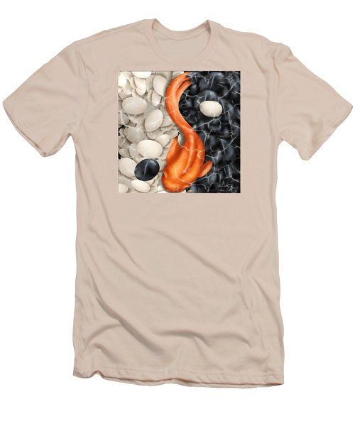Natural Equilibrium Yin Yang Men's T-Shirt (Athletic Fit)