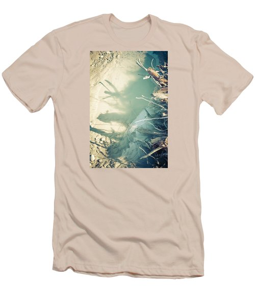 Men's T-Shirt (Slim Fit) featuring the photograph Natural Fantasmigoria by Michele Cornelius
