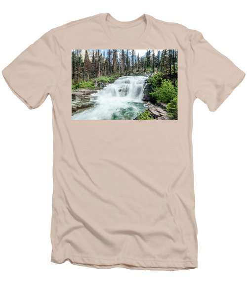 Nature Finds A Way Men's T-Shirt (Slim Fit)