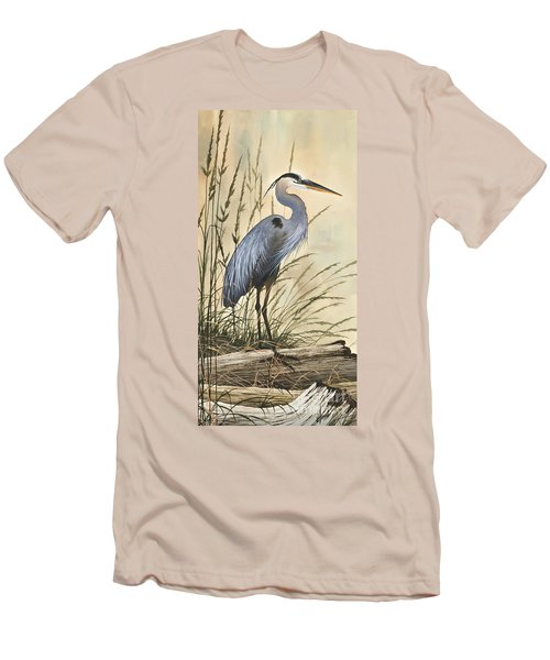 Nature's Harmony Men's T-Shirt (Slim Fit) by James Williamson