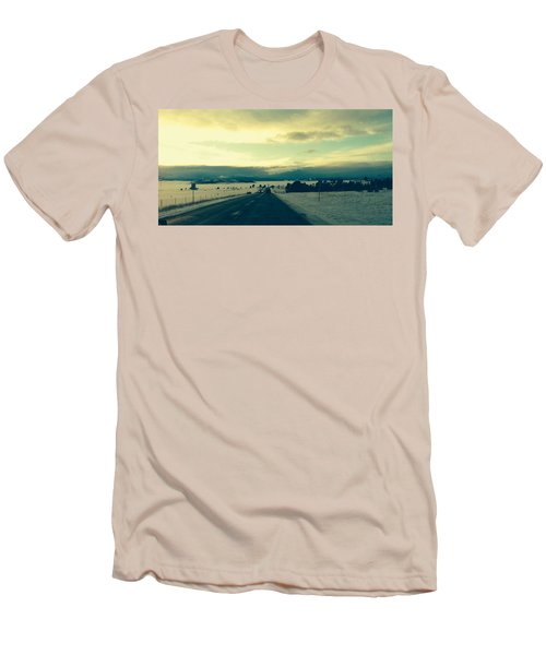 Men's T-Shirt (Slim Fit) featuring the photograph Near Hartsel by Christin Brodie