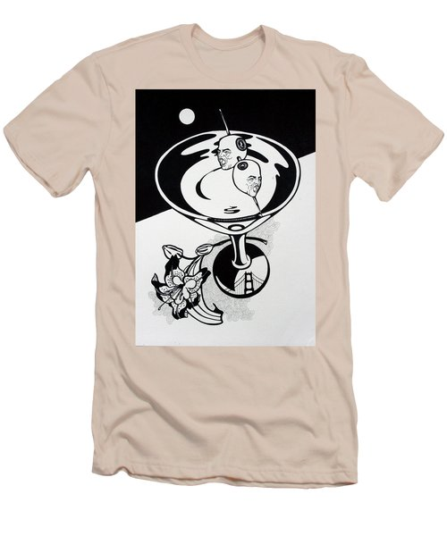 New York Martini Men's T-Shirt (Athletic Fit)