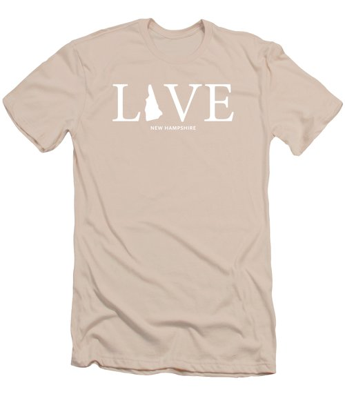 Nh Love Men's T-Shirt (Slim Fit) by Nancy Ingersoll