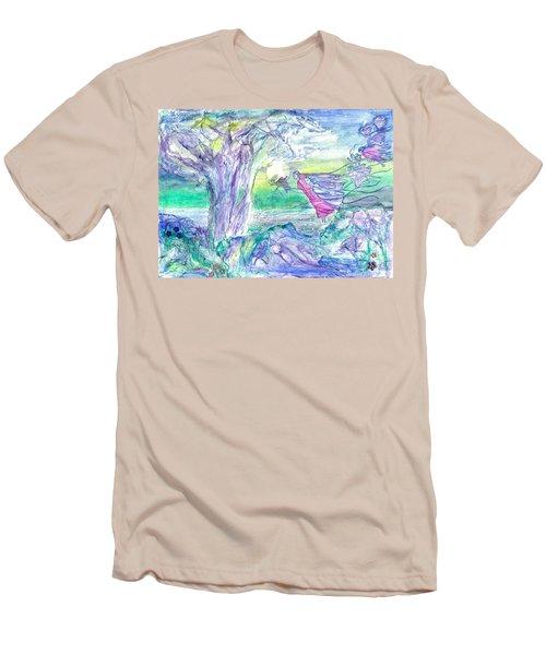 Night Flight Men's T-Shirt (Athletic Fit)