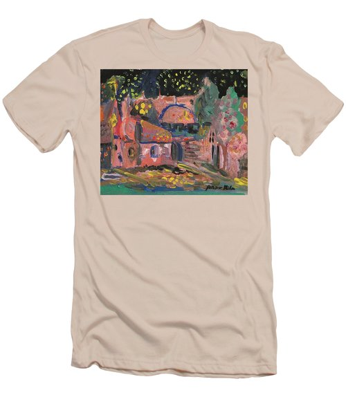 Night Landscape Men's T-Shirt (Slim Fit) by Rita Fetisov
