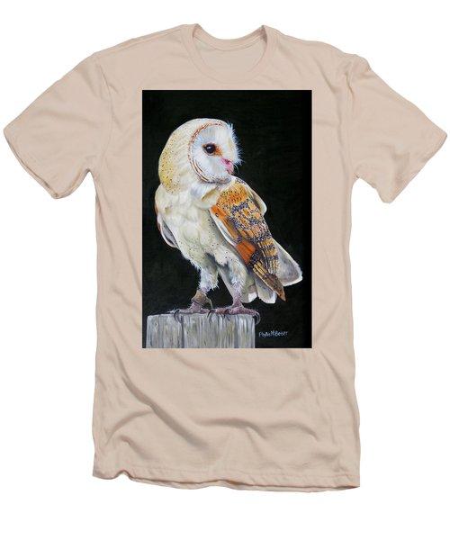 Night Watch Men's T-Shirt (Slim Fit) by Phyllis Beiser