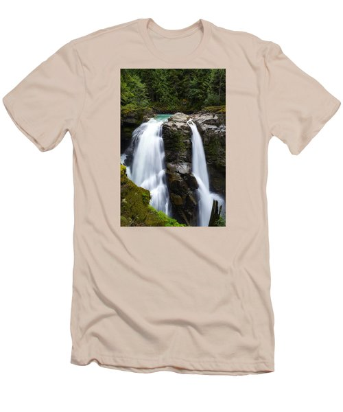 Nooksack Falls Men's T-Shirt (Athletic Fit)