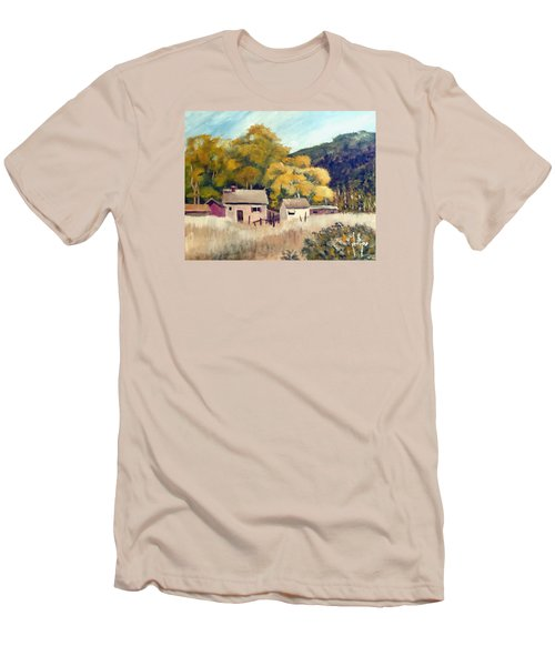 North Carolina Foothills Men's T-Shirt (Slim Fit) by Jim Phillips