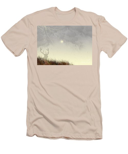 Nostalgic Moments Men's T-Shirt (Slim Fit) by Trilby Cole