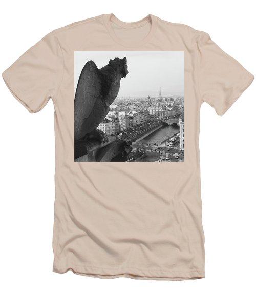 Notre Dame Gargoyle Men's T-Shirt (Athletic Fit)