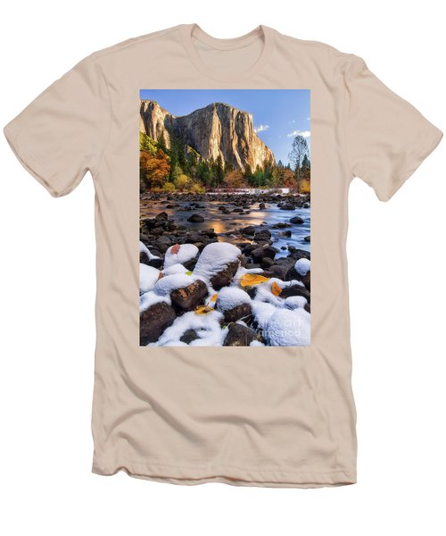 November Morning Men's T-Shirt (Slim Fit) by Anthony Michael Bonafede