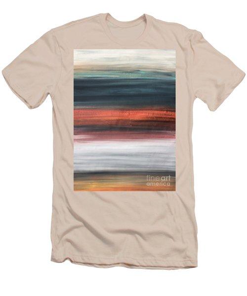 Oak Creek #30 Southwest Landscape Original Fine Art Acrylic On Canvas Men's T-Shirt (Athletic Fit)