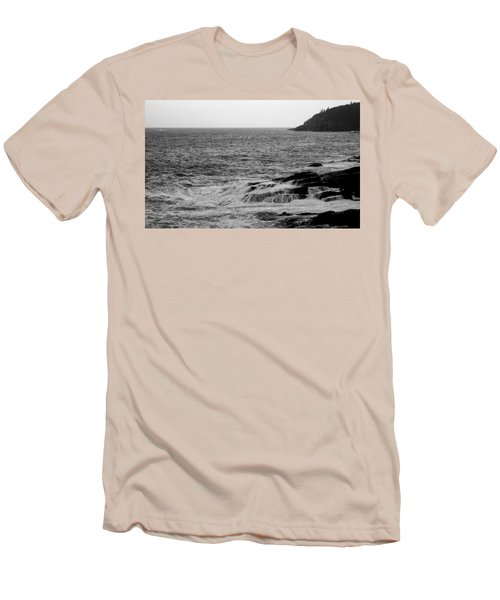 Ocean Drive Men's T-Shirt (Slim Fit) by Greg DeBeck