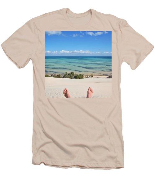 Ocean Views Men's T-Shirt (Athletic Fit)