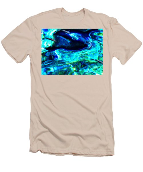 Men's T-Shirt (Slim Fit) featuring the photograph Ocean Reflections  by Colette V Hera  Guggenheim