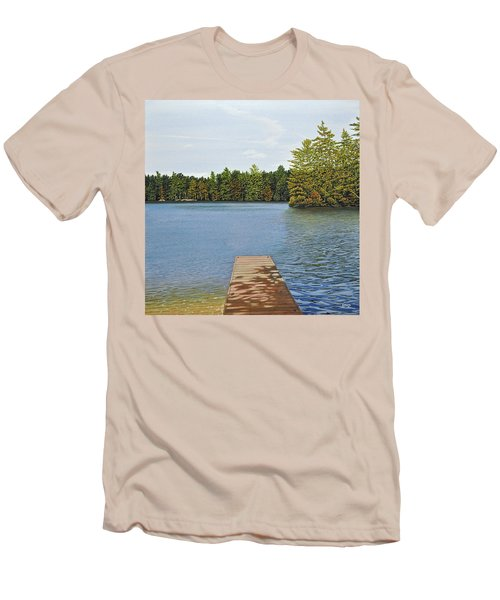 Off The Dock Men's T-Shirt (Slim Fit) by Kenneth M  Kirsch
