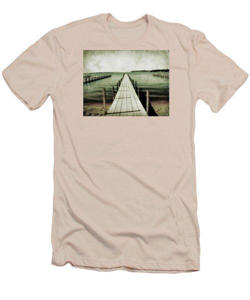 Okoboji Docks Men's T-Shirt (Athletic Fit)