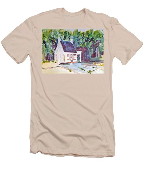 Former Old Country Gas Station Men's T-Shirt (Athletic Fit)